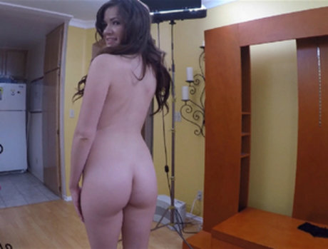Alison Rey Gets a Mouthful