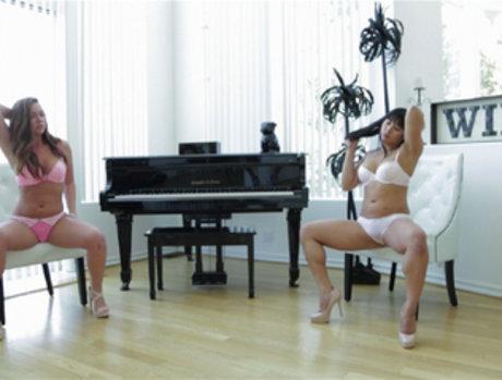 Maddy O'reilly and Mia Li - Slip Slip