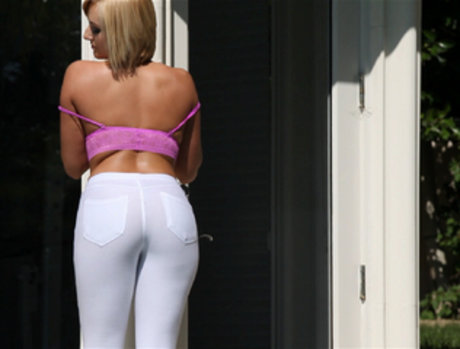 Kate England Takes Black Meat Up That White Ass