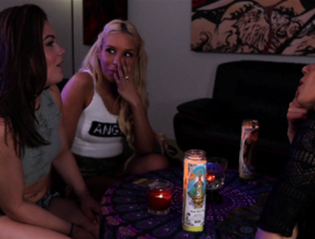 Carmen Caliente and Kimber Woods Seduced by Darcie Dolce