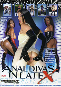 Anal Divas in Latex #1