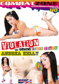 Violation of Hairy First Timer Andrea Kelly #1
