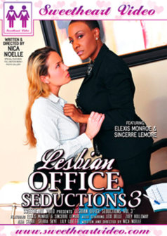 Lesbian Office Seductions #3