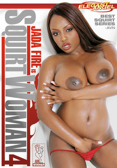 Jada Fire is Squirtwoman #4