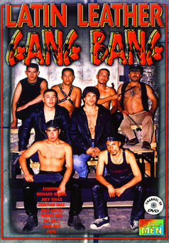 Latin Leather Gang Bang #1